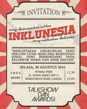 Undangan Inklunesia Award