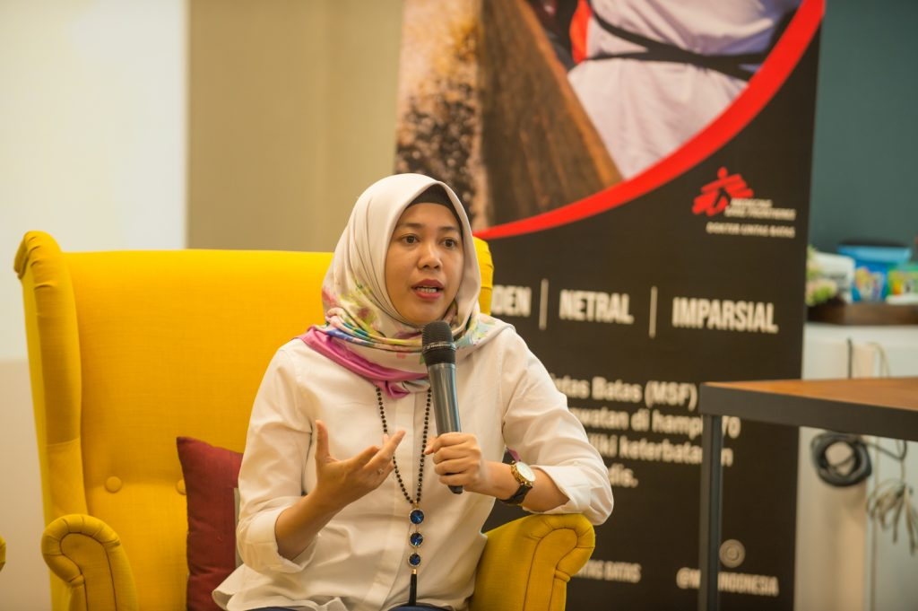 Credit: Irwan Citrajaya untuk MSF Indonesia